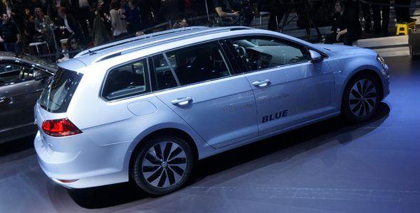 Volkswagen Golf Variant, presentado en Ginebra