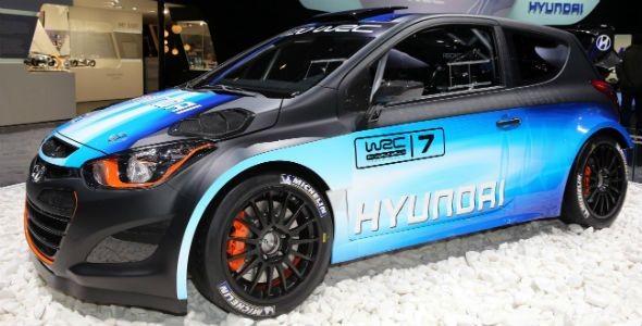 Hyundai i20 WRC, presentado en el Salón de Ginebra