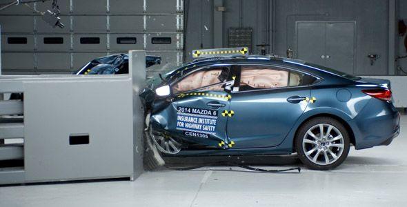Honda Civic, Volvo XC60 y Mazda6: máxima puntuación en los crash-tests del IIHS