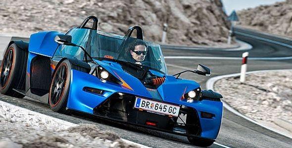 Nuevo KTM X-Bow GT, con parabrisas