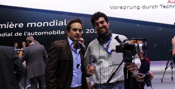 Salón del Automóvil de Ginebra: Autocasion.com realiza 27 vídeos