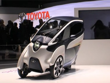 El Toyota i-ROAD en Ginebra