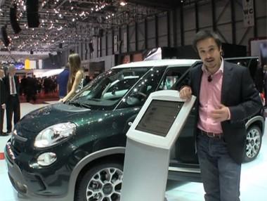 Salón de Ginebra: Fiat 500L Trekking