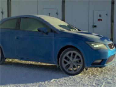 Seat León SC, en el Ártico