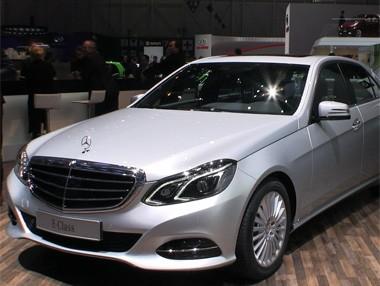 Salón de Ginebra: Mercedes Clase E