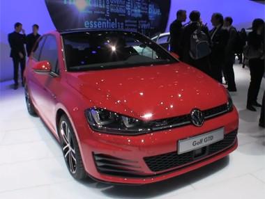 Salón de Ginebra: Volkswagen Golf GTD