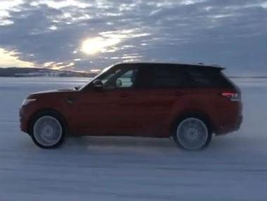 Range Rover Sport, en movimiento