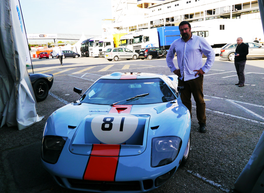Aniversario Ford GT 40 Montjuic, Rubén Fidalgo