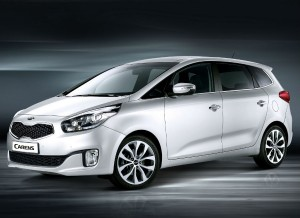 El nuevo Kia Carens adopta la nueva imagen de la marca asiática.