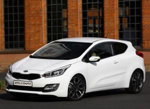 A la espera del Pr Cee'd GT, el nuevo Kia Pro Cee'd es el Kia más deportivo de la gama.