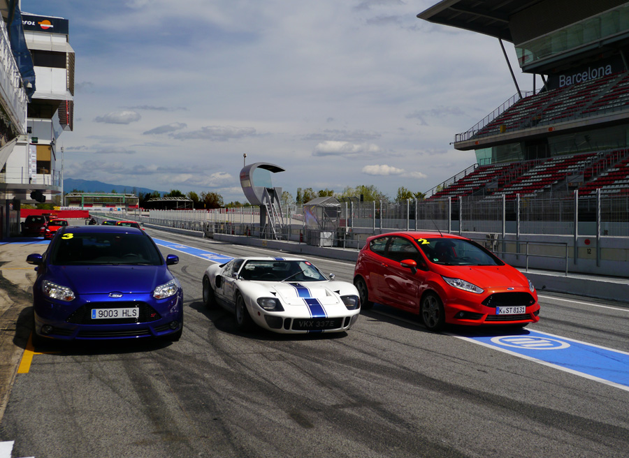 Prueba Nuevo Ford Fiesta ST, Ford GT 40, Rubén Fidalgo