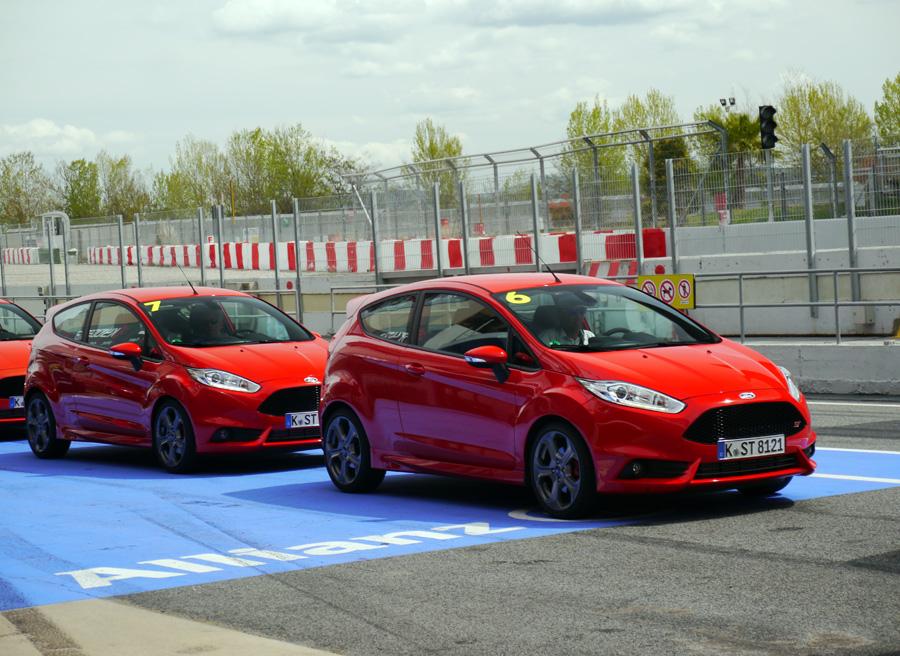 Prueba Nuevo Ford Fiesta ST, Montmeló, Rubén Fidalgo