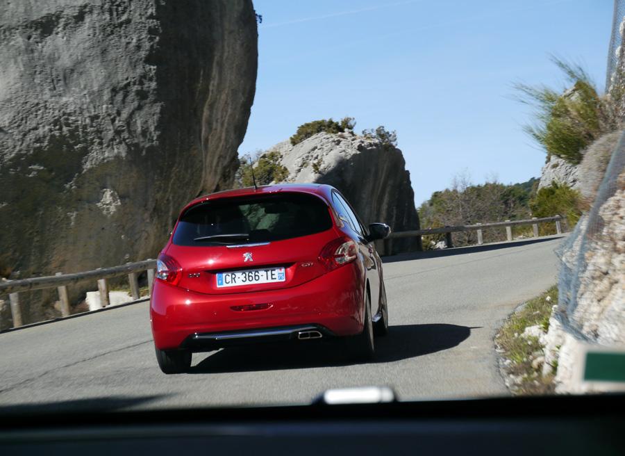 Prueba Peugeot 208 GTi, Niza, Rubén Fidalgo