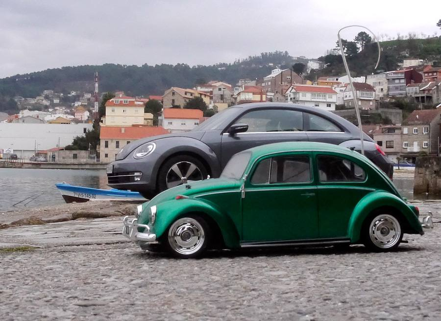 Prueba VW Beetle Design 1.6 TDi 105 CV, Teis, Rubén Fidalgo