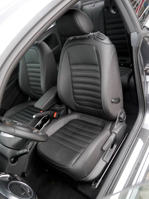 Prueba VW Beetle Design 1.6 TDi 105 CV, interior, Rubén Fidalgo