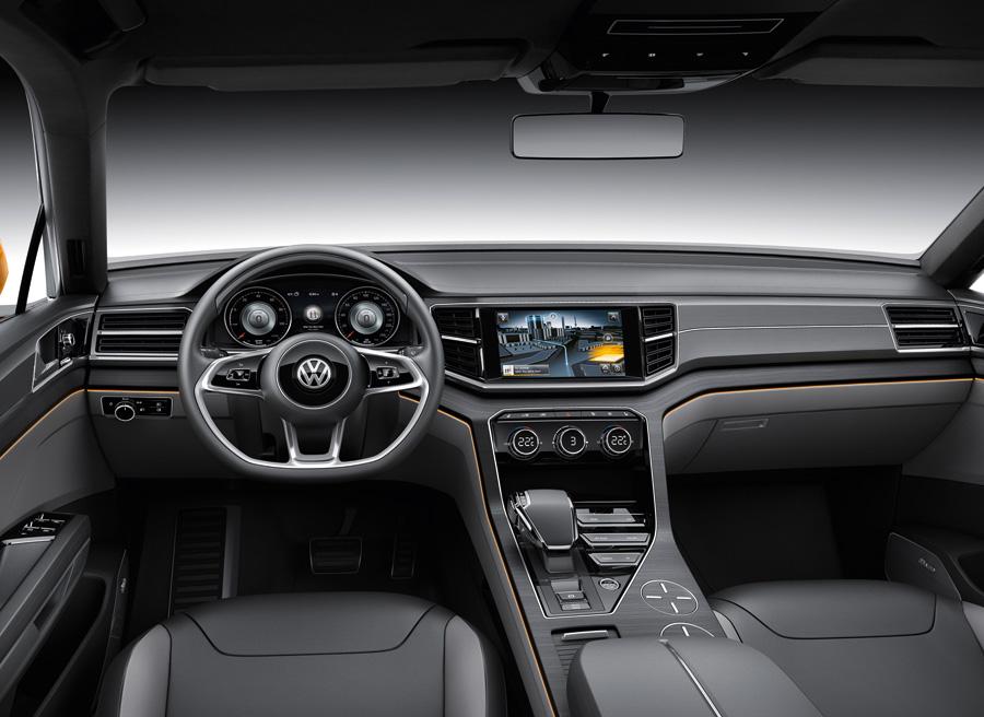 VW CrossBlue Coupe Shangai 2013
