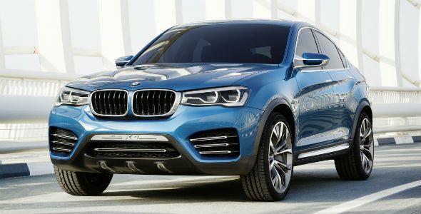 Nuevo BMW Concept X4: más imágenes