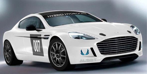 Aston Martin Rapide S: motor híbrido de hidrógeno para competir en Nürburgring