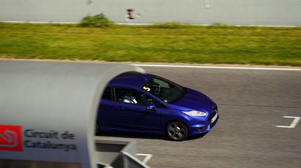 El nuevo Ford Fiesta ST, a prueba en Montmeló