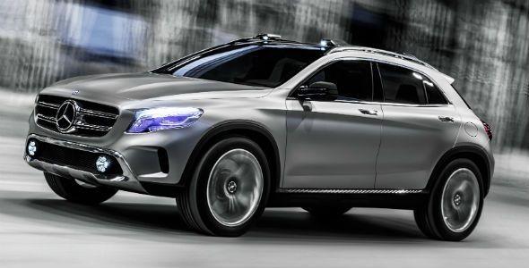 Mercedes GLA Concept: se presenta en Shanghai