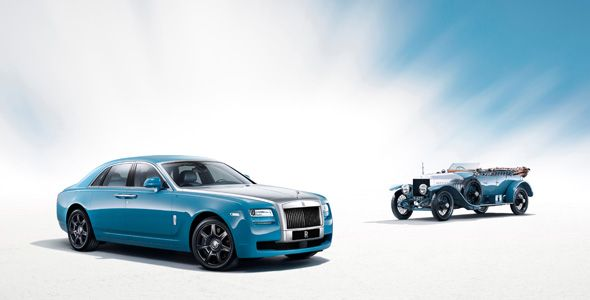 Rolls Royce Alpine Trial Centenary Collection, en Auto China 2013