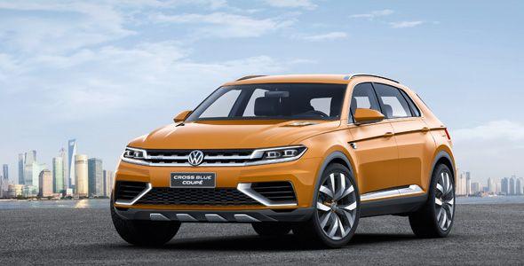 Volkswagen CrossBlue Coupé híbrido enchufable y VW iBeetle se estrenan en Shanghai