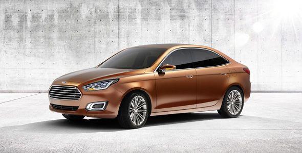 Ford Escort Concept, basado en el Focus, para el mercado chino
