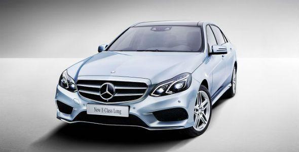 Nuevo Mercedes Clase E: versión larga para Shanghai