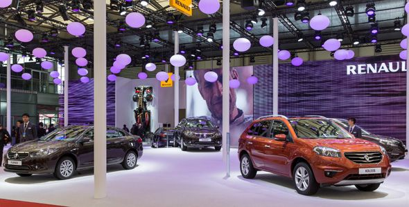 El nuevo Renault Fluence, protagonista en Shanghai 2013