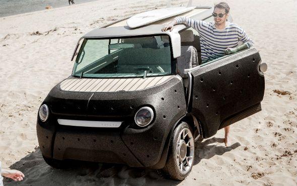 Toyota ME.WE: prototipo, eléctrico y ligero