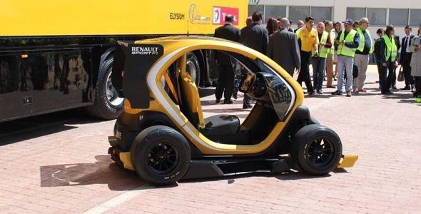 Renault Twizy RS F1, un eléctrico salido de la Fórmula 1