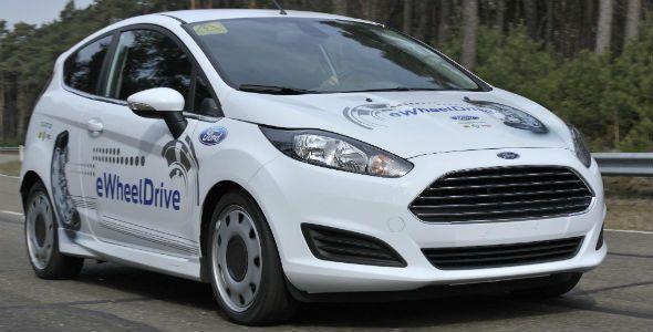Ford eWheelDrive: el futuro ya está aquí