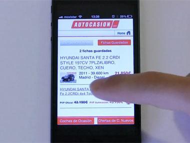 La aplicación de Autocasion.com, en tu móvil