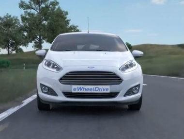 Ford eWheelDrive: el futuro de Ford, en movimiento