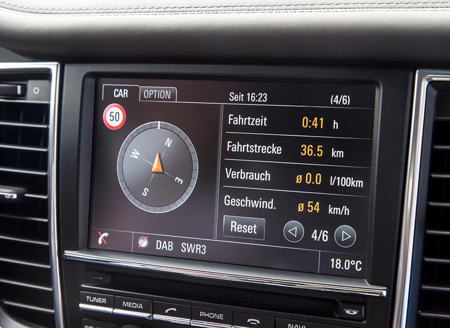 Consumo Porsche Panamera S E-Hybrid