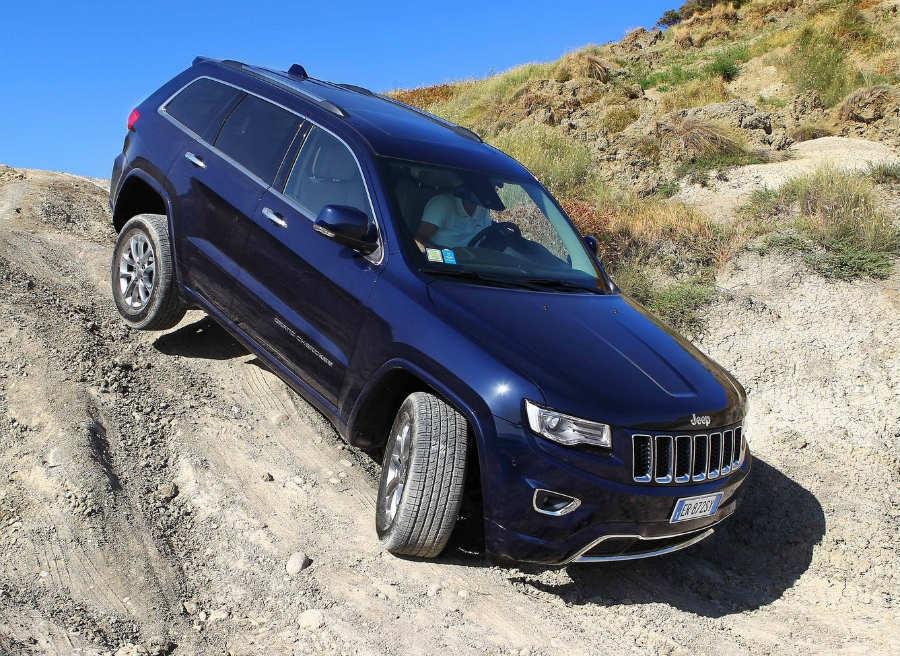 El nuevo Jeep Grand Cherokee afrontará con solvencia hasta los imprevistos más complicados.