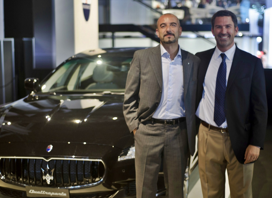 Maserati Quattroporte GTS Ivan Capelli Salon de Barcelona 2013