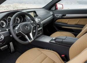 Así es el interior del nuevo Mercedes Clase E Coupé.