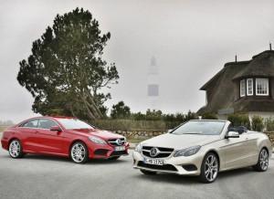 Los nuevos Mercedes Clase E Coupé y Cabrio ofrecen hasta 9 motores diferentes, seis de gasolina y tres diésel.