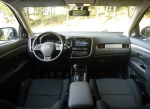 Prueba Mitsubishi Outlander 2013, interior, Rubén Fidalgo