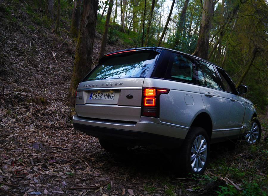Prueba Range Rover Vogue SDV8, Chenlo, Rubén Fidalgo