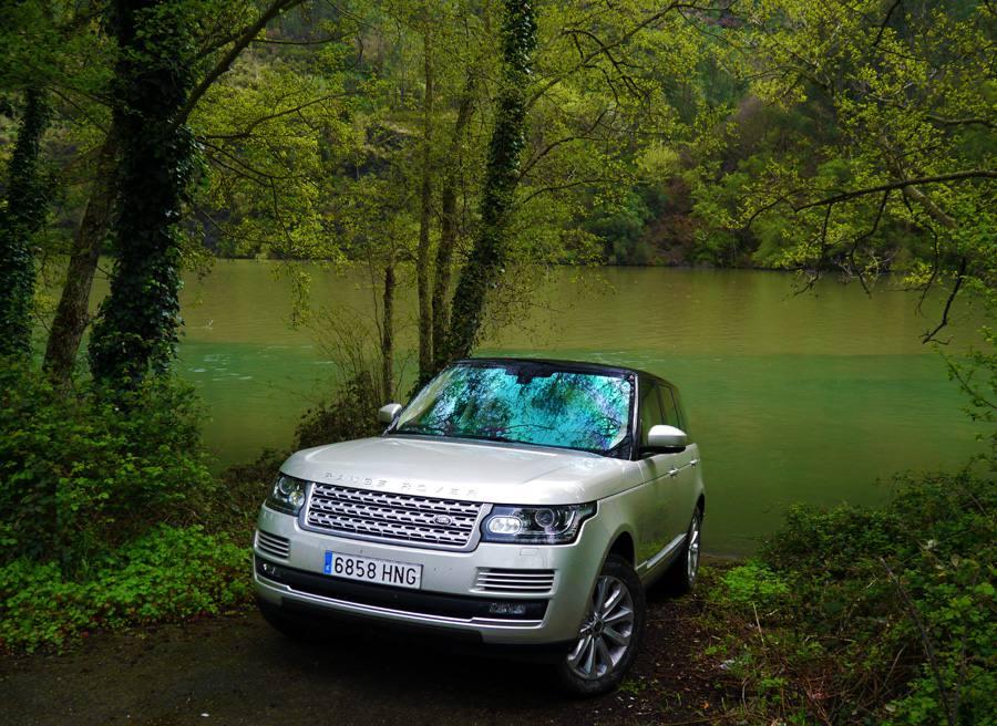 Prueba Range Rover Vogue SDV8, Soldón, Rubén Fidalgo