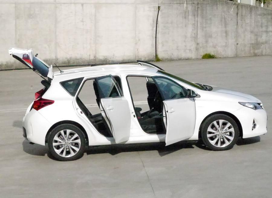 Prueba nuevo Toyota Auris HSD, Tui, Rubén Fidalgo