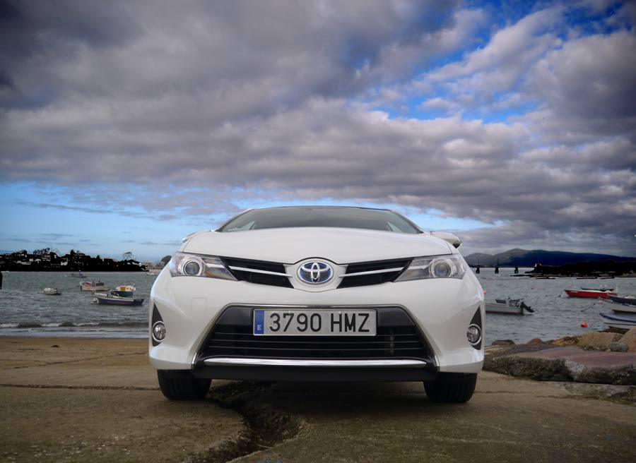 Prueba nuevo Toyota Auris HSD, Canido, Rubén Fidalgo