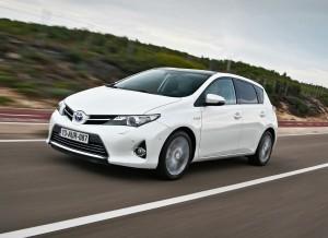 El nuevo Toyota Auris Hybrid Touring Sports fue presentado en Ginebra.
