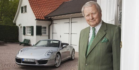 Wolfgang Porsche cumple 70 años