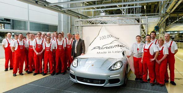 El Porsche Panamera alcanza una producción acumulada de 100.000 unidades