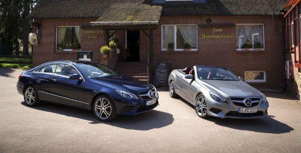 Nuevos Mercedes Clase E Coupé y Cabrio
