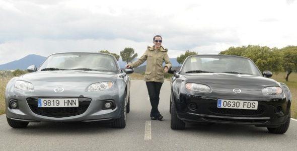 Al volante del Mazda MX-5… ¡más curvas, por favor!