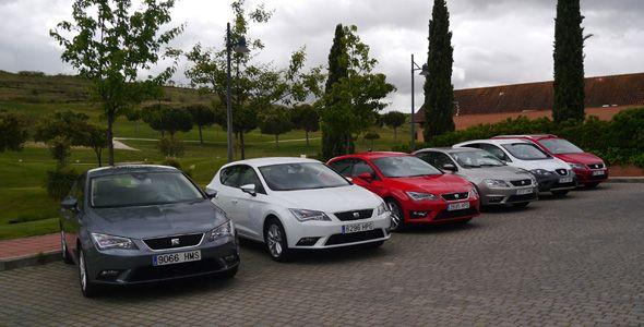 Seat presenta su gama de modelos de 2013, la más amplia de su historia, con nuevos equipamientos